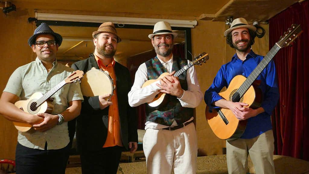 葡萄牙乐手带来古老的葡韵乐声