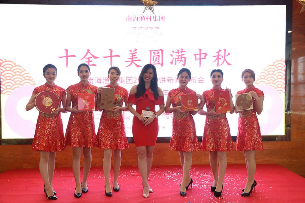广东广播电视台著名主持人胡丹担任发布会主持