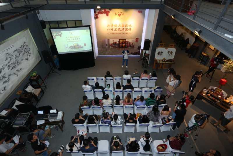 渔歌晚唱艺术沙龙为现今广东地区规模较大的私营艺术空间