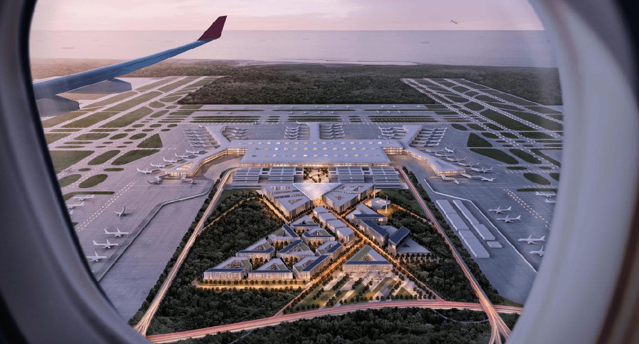 极富人性化和科技感机场服务