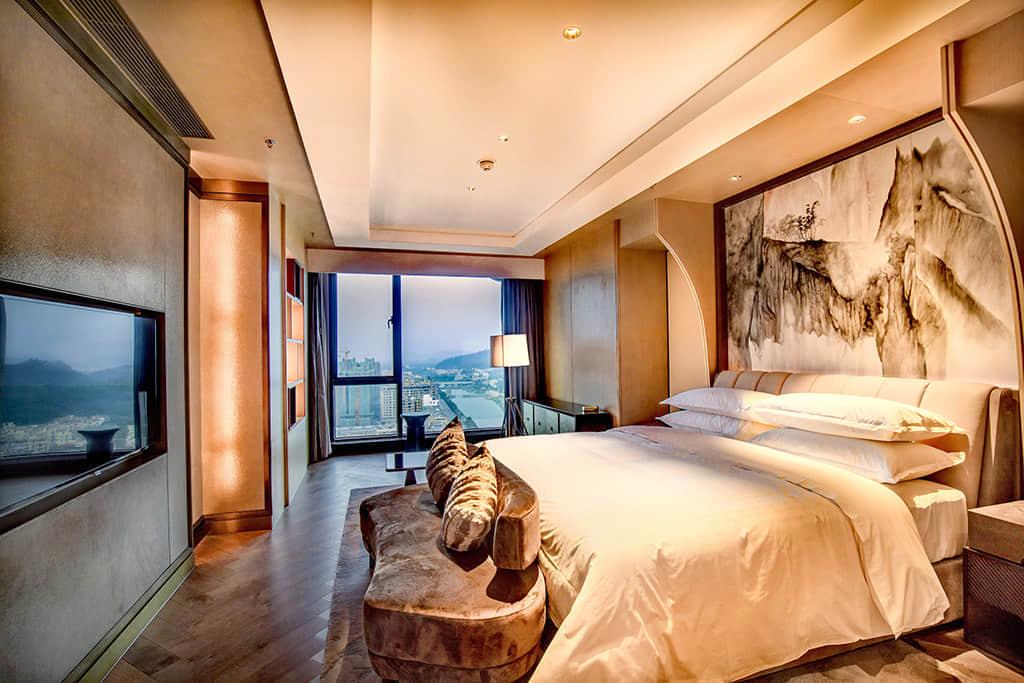 文化韵味与设计感并存的酒店客房