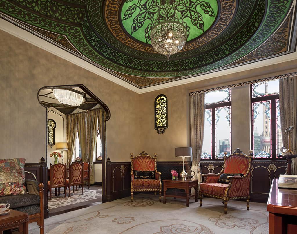 九国特色套房之一的印度套房