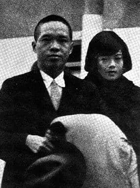 陈济棠夫妇