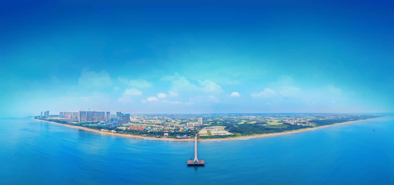 鼎龙湾国际海洋度假区实景