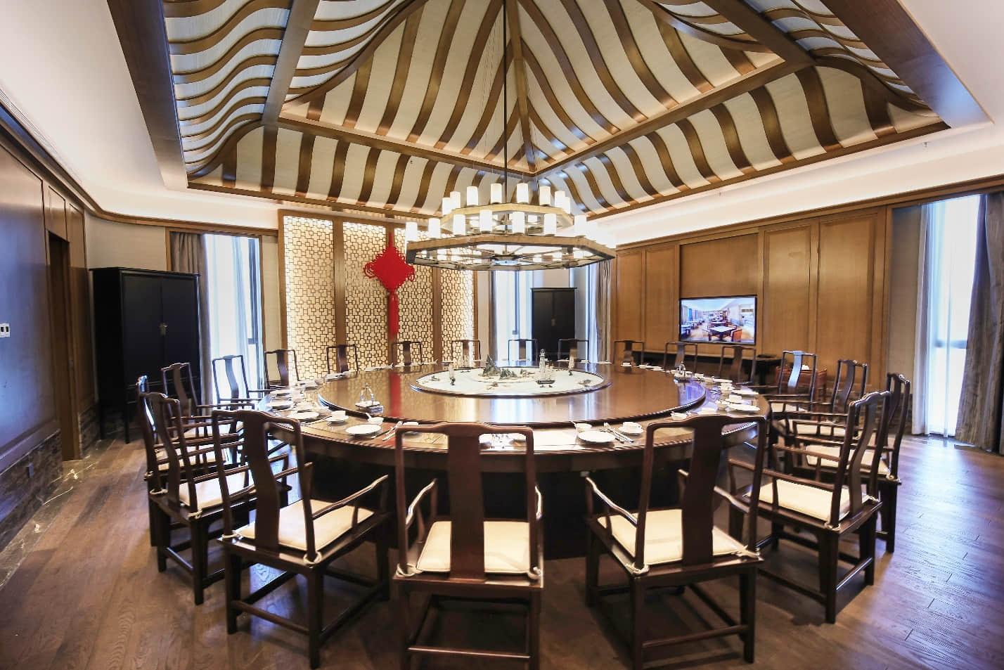 精致古典的采悦轩中餐厅